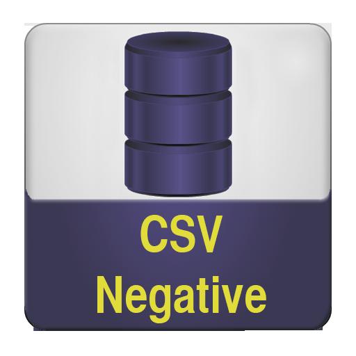 корпус негативных текстов в формате csv